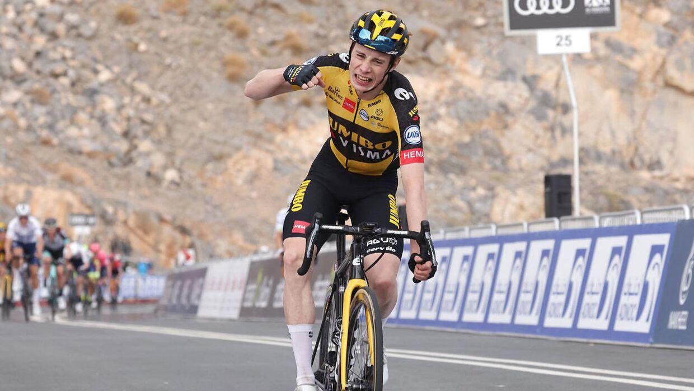Jonas Vingegaard har for alvor trådt frem i denne sæson. Der er allerede tre sejre på cv'et.