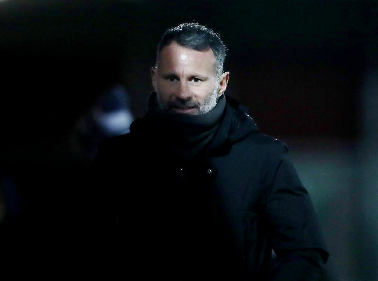 Soccer Football - League Two - Salford City v Barrow - The Peninsula Stadium, Salford, Britain - February 16, 2021 Ryan Giggs after the match Action Images/Molly Darlington EDITORIAL USE ONLY.No use with unauthorized audio, video, data, fixture lists, club/league logos or 'live' services. Online in-match use limited to 75 images, no video emulation.No use in betting, games or single club /league/player publications. Please contact your account representative for further details.