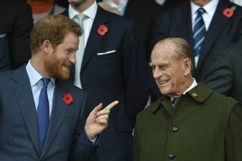 Prins Harry kaldte sin farfar for 'grillmesteren'.
