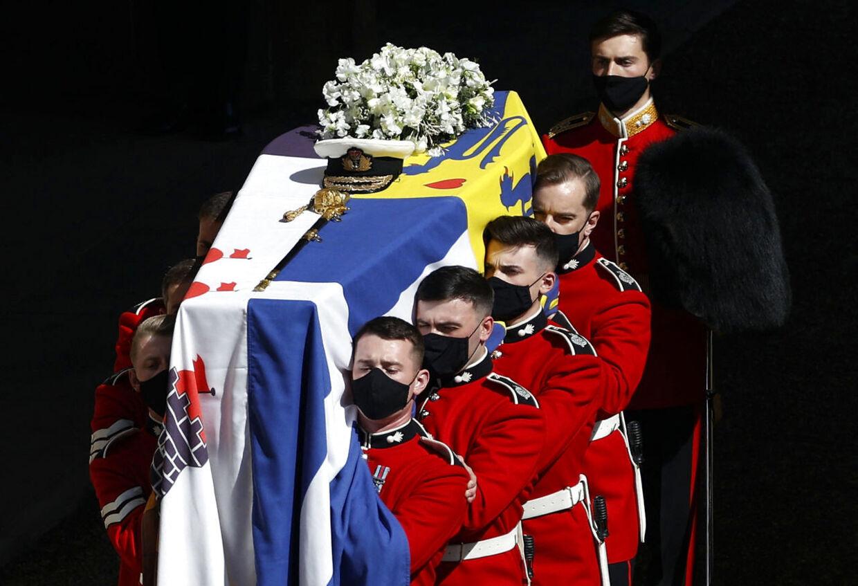 Prins Philip blev begraet 17. april.
