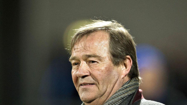 Lynge Jakobsen var i 17 år sportslig ansvarlig i AaB. Her ses han i 2013.