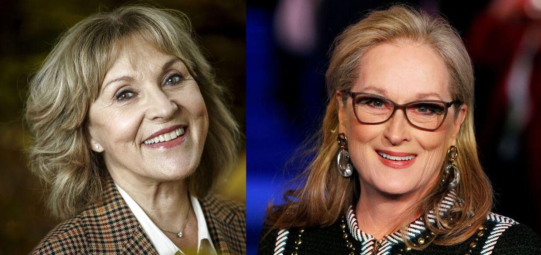 Susse Wold og Meryl Streep.