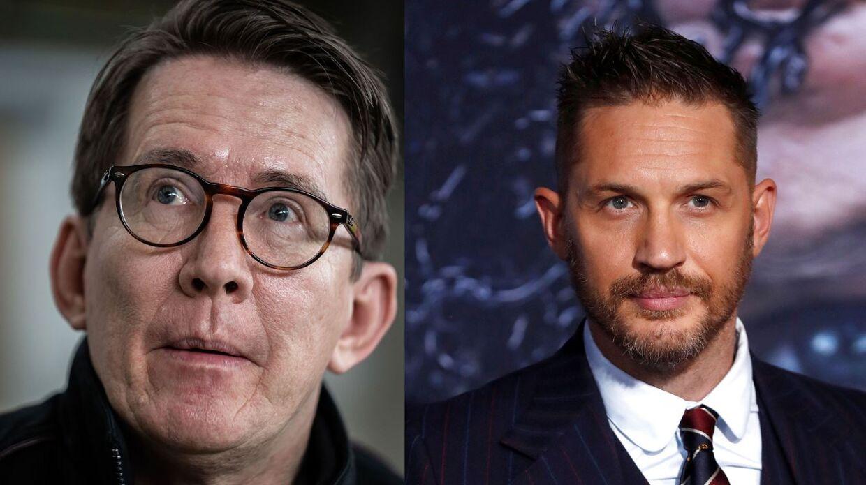 Thomas Bo Larsen og Tom Hardy.