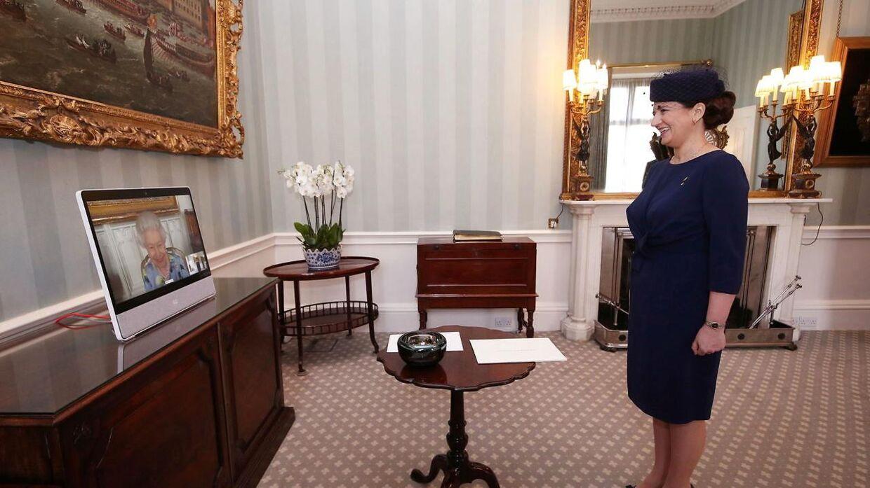 Den lettiske ambassadør i London, Ivita Burmistre.