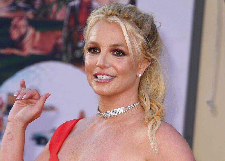 Arkivfoto af Britney Spears fra 2019.
