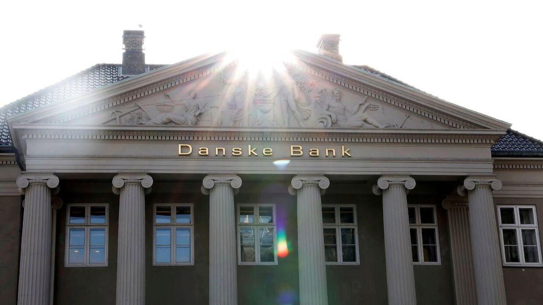 Danske Bank fik i første kvartal et overskud på 3,1 milliard kroner.