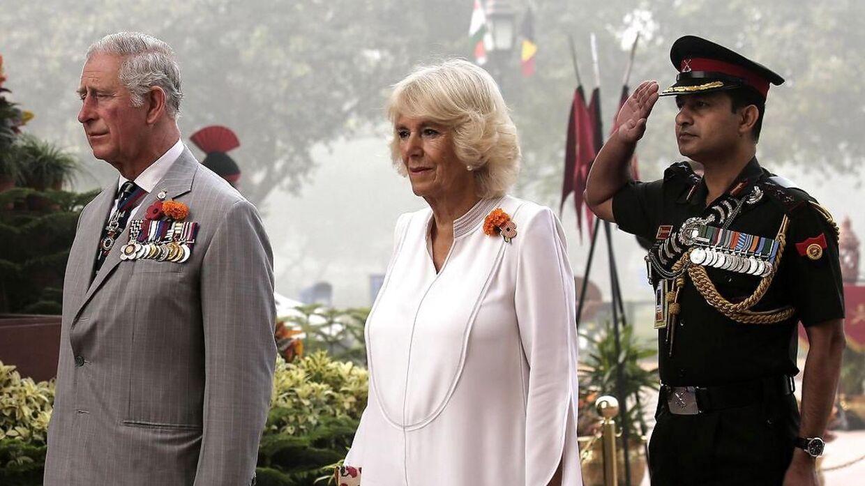 I 2017 var Charles i Indien med sin kone, Camilla.
