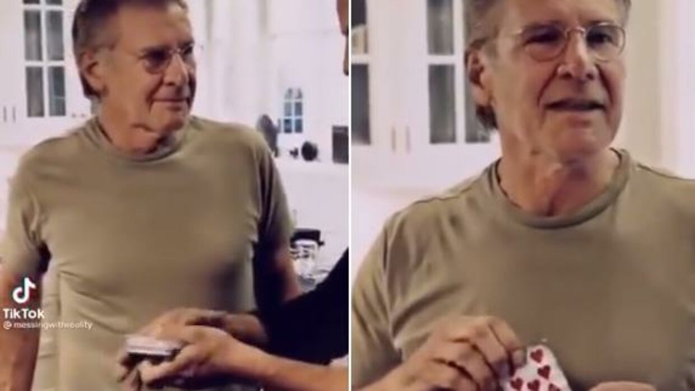 En gammel video af Harrison Ford er gået viralt.