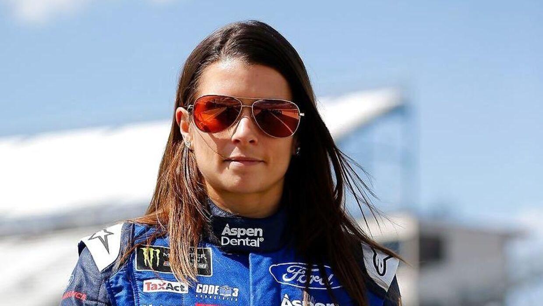 Danica Patrick er historiens mest succesfulde kvindelige motorsportskører i USA.