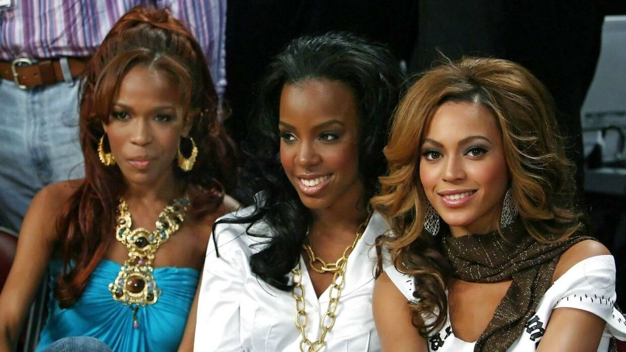 Michelle Williams, Kelly Rowland og Beyonce Knowles i 2006.