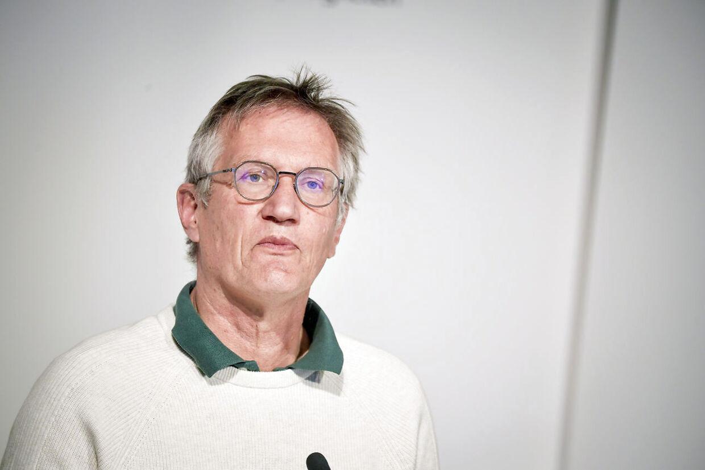 Den svenske statsepidemiolog Anders Tegnell, der er hovedarkitekten bag Sveriges coronastrategi. Foto: Pontus Lundahl / TT / kod 10050. (Foto: 10050 Pontus Lundahl/TT/Ritzau Scanpix)