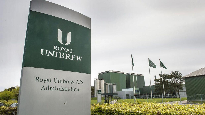 Arkivfoto. Royal Unibrew - Faxe Bryggeri.