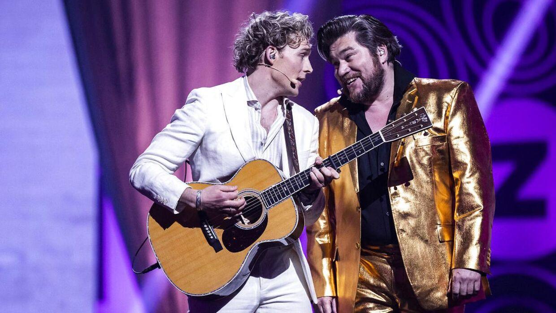 Christopher og Rasmus Bjerg.