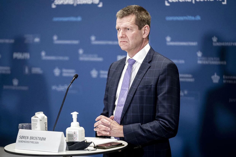 Sundhedsstyrelsens direktør Søren Brostrøm har mandag meddelt, at Johnson & Johnson-vaccinen tages ud af det danske vaccinationsprogram.