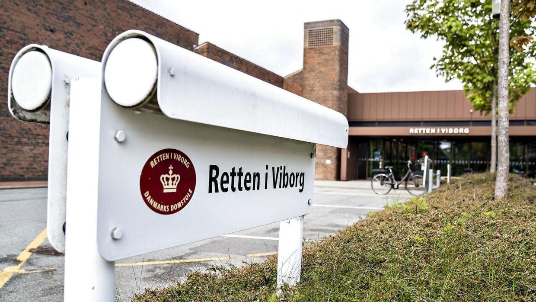 Retten i Viborg.