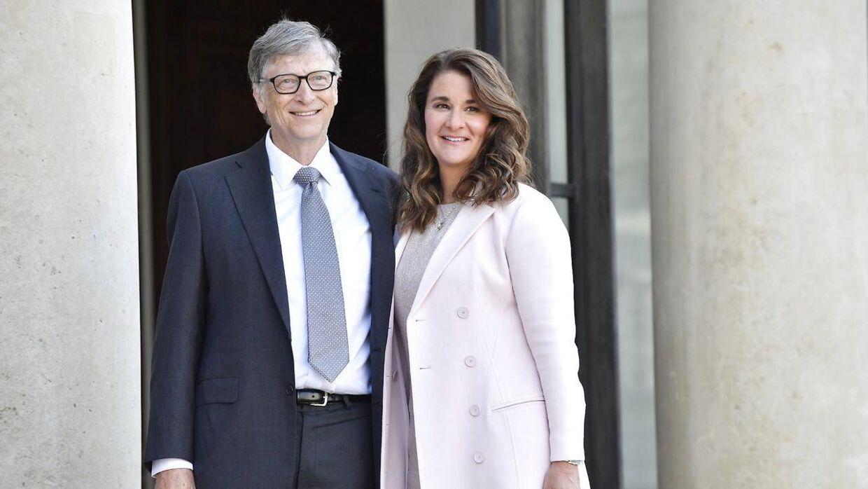 Efter 27 års ægteskab har Bill og Melinda Gates besluttet at gå hver til sit. Foto: Scanpix