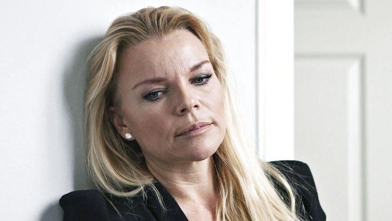 Katerina Pitzner i hendes hus på Nordsjælland i forbindelse med interview med Katerina Pitzner om den stenrige families vanvittige arvesag.