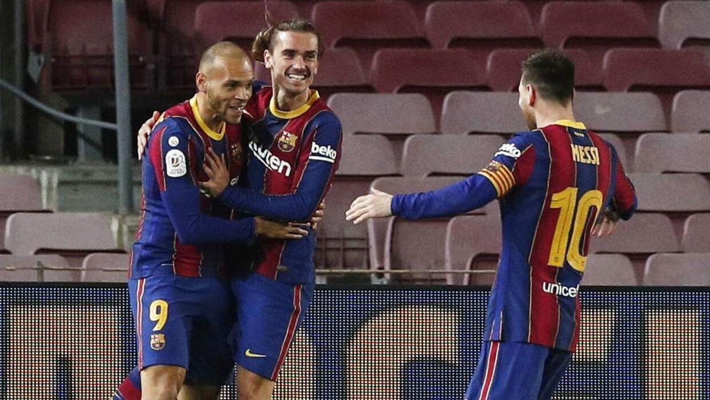 Braitwaite og resten af Barcelona-stjernerne kan muligvis ende i problemer, efter de i weekenden var til grillfest hos Lionel Messi.
