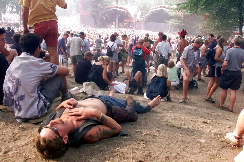 I mere end 40 år har der været Smukfest i Skanderborg hvert år. For andet år i træk må festivallen aflyse på grund af corona. Foto: BENT MIDSTRUP/Ritzau Scanpix