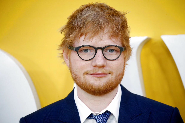 """(ARKIV) Cast member Ed Sheeran attends the UK premiere of """"Yesterday"""" in London, Britain, June 18, 2019. Borgerforslag tvinger det britiske parlament til at drøfte visumproblemer med EU for popsangere og andre kunstnere, der vil optræde i EU. Det skriver Ritzau, onsdag den 27. januar 2021.. (Foto: HENRY NICHOLLS/Ritzau Scanpix)"""