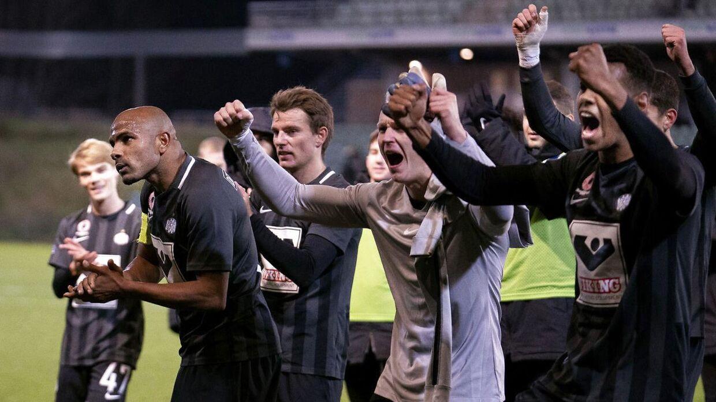 Esbjergs spillere har endnu ikke ramt klubbens målsætning.
