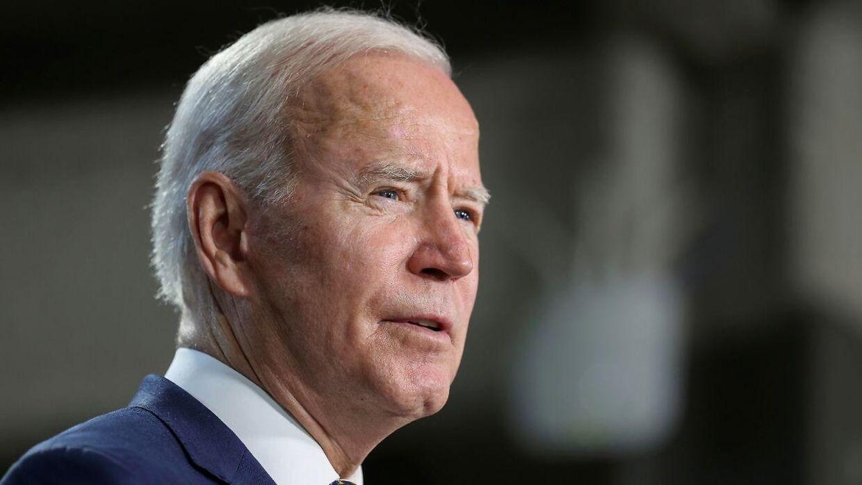 Præsident Joe Biden.