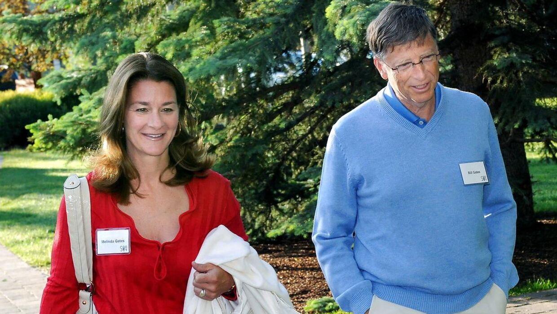 Bill Gates og Melinda Gates i juli 2009.