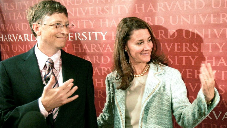 Bill Gates og Melinda Gates i 2007.