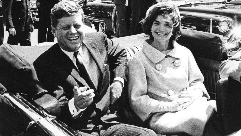 John F. Kennedy og Jackie Kennedy i 1961.