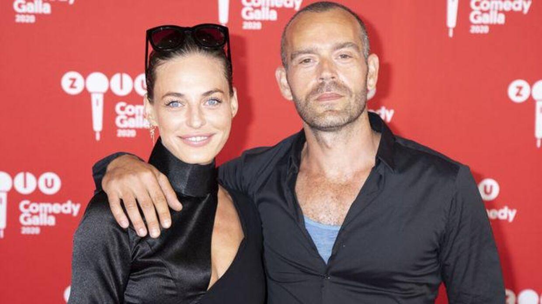 Sarah Grünewald med den nye mand i sit liv, Benjamin Kaniewski.
