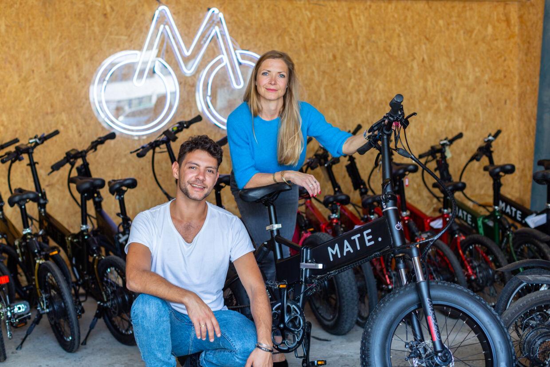 Siden 2016 har et dansk søskendepar produceret elcyklen Mate. Nu er den slået igennem blandt stjerner i Hollywood, og rapperen Jay-Z har investeret i firmaet. PR-foto.