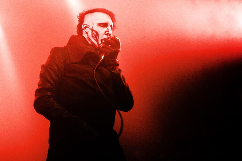 Marilyn Manson koncert 8. juni 2015 på Vega.