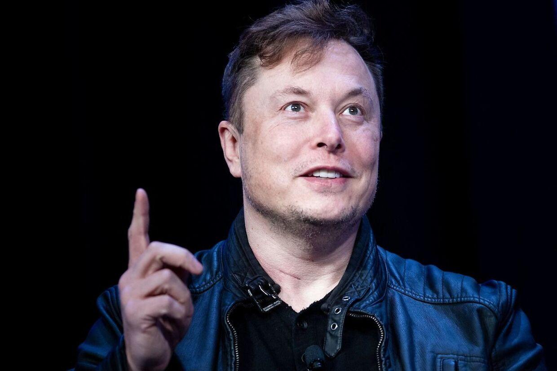 Elon Musk, stifter af Tesla.