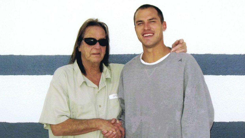 George Jung (tv.) i fængslet med Anthony Curcio