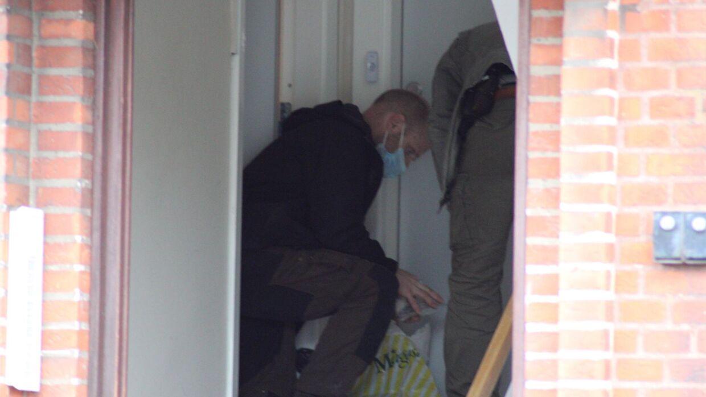 Politiet er til stede i Assens torsdag morgen i forbindelse med en ransagning.