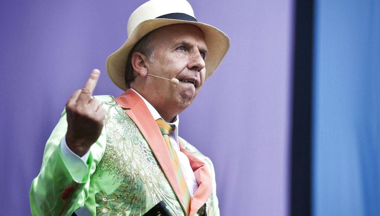 Jacob Haugaard har været Grøn Koncerts konferencier i over 30 år.