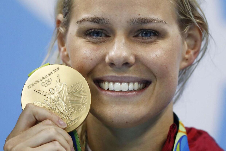 Pernille Blume vandt OL-guld i Rio i 2016.