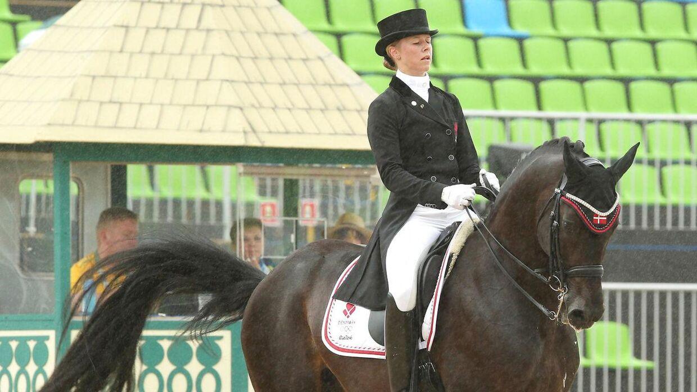Kjeld Kirk Kristiansens datter Agnete Kirk Thingggard er også vild med heste og har redet på det danske landshold.