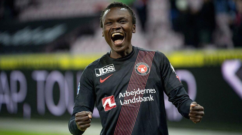 Pione Sisto er tilbage i varmen i FC Midtjylland.
