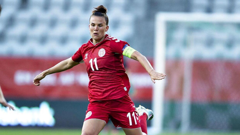Katrine Veje har spillet mere end 100 landskampe for Danmark.