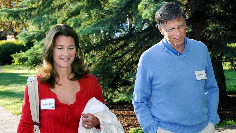 Bill og Melinda mødtes ved forretningsmiddag før måneder efter, at hun blev ansat i Microsoft.