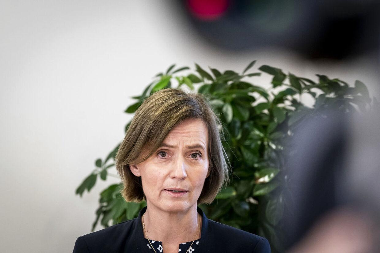 Her ses Dorthe Crüger, der er lægefaglig koncerndirektør ved Region Hovedstaden. Foto: Ida Marie Odgaard