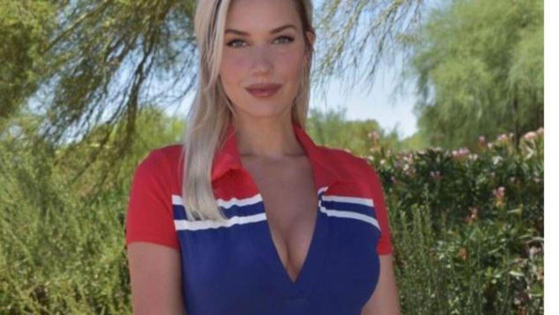 28-årige Paige Spiranac. Foto: Instagram.
