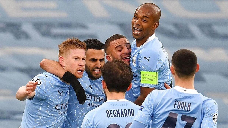 Manchester City er i den første Champions League-finale i klubbens historie.