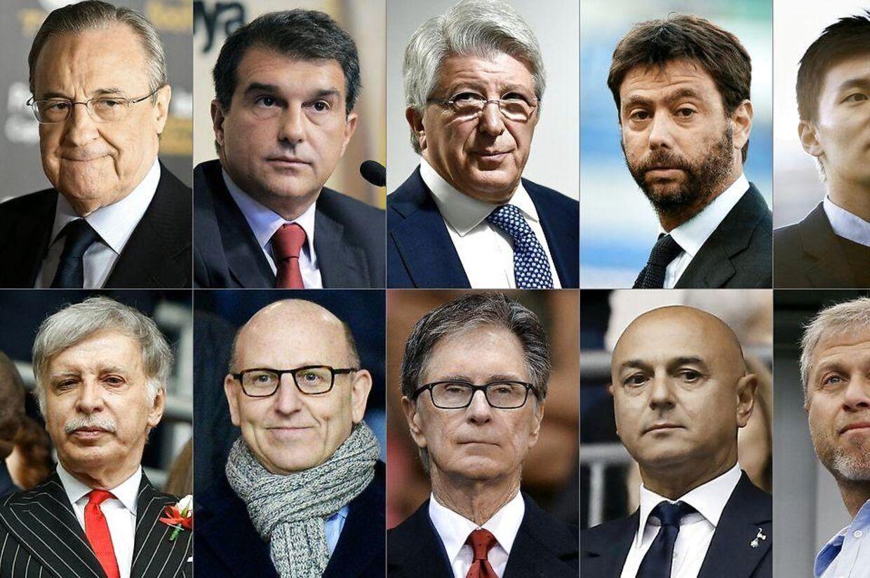 De to 12 bosser for Super League-udbryderne