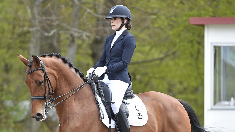 Mary ses her på den 12-årig vallak Edelman. Hun har redet hesten gennem længere tid. Det fremgår ikke, om kronprinsesse Mary ejer hesten, eller om hun har lånt den af Lego-ejer Kjeld Kirk Kristiansen, der tidligere har været oplyst som værende ejer af hesten.