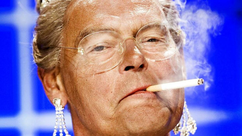 Sådan så det ud i 2006, da Ulf var dronning Margrethe i Cirkusrevyen.