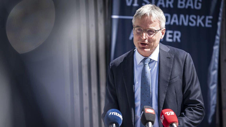 Direktør for Sallingfonden Per Bank