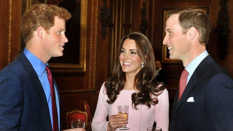 Harry og William så tidligere altid ud til at more sig i hinandens selskab.