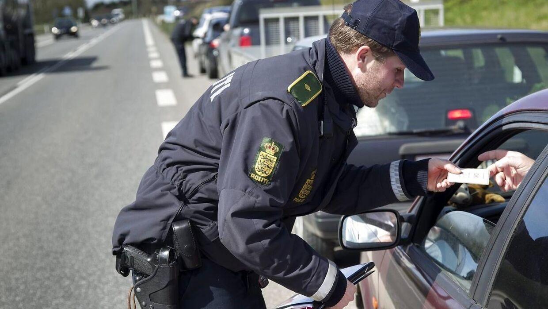 10.–16. maj har politiet i alle 12 politikredse fokus på uopmærksomhed bag rattet. Foto: Scanpix.